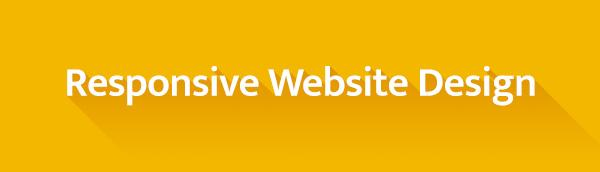 Responsive websites button