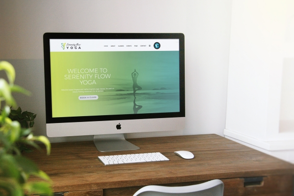 Serenity Flow Yoga Website Development